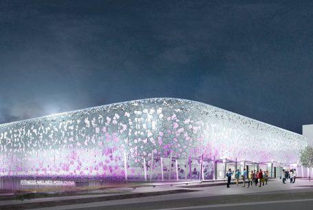 Sports arena, Ostrava-Přívoz
