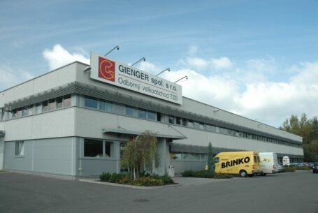 Provozně administrativní areál Gienger