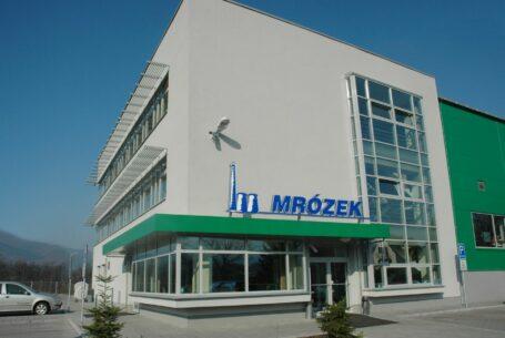 Provozní areál firmy Bohuslav Mrózek